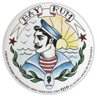 Shaving Cream Bay Rum 150ml - Extro Cosmesi