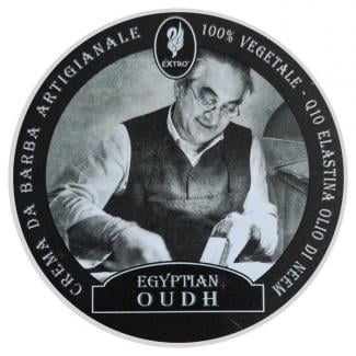Shaving Cream Egyptian Oudh 150ml - Extro Cosmesi