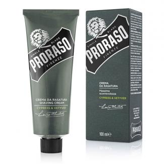 Shaving Cream Cypress & Vetyver Tube 100ml - Proraso
