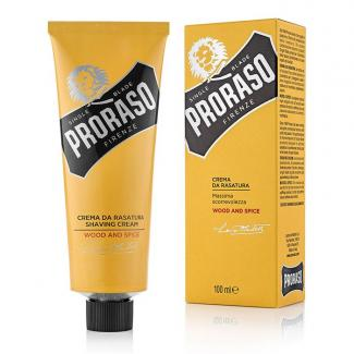 Shaving Cream Wood & Spice Tube 100ml - Proraso